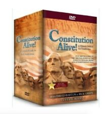 Constitution Alive! 4 Volume 6 DVD Set includes Class Work Book from David Barto