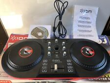 ION Discover DJ Computer DJ System USB DJ controller for Mac and PC