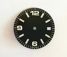 Plain Explorer / Aviator Watch Dial w/date for ETA 2836 / 2824 Movement