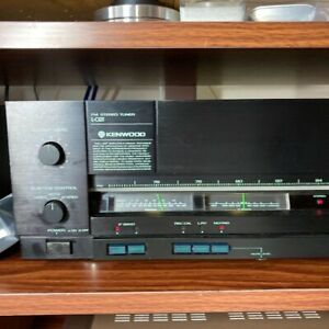 KENWOOD FM Stereo Tuner Non Step Sampling Hold MPX AC100V 1980's L-02T G2680