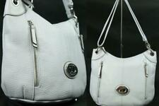 New TIGNANELLO Purple Soft Pebble Leather Satchel Handbag Shoulder Bag RFID
