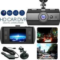 2.2'' Dual Lens GPS Car DVR 1080P Dash Cam Video Recorder Night Vision T5A8