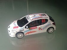 DECAL CALCA 1 43 PEUGEOT 207 RC N°58 Rally WRC monte carlo 2014 montecarlo