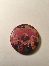 Original 1980's Concert button Pin Rock Group - The Police