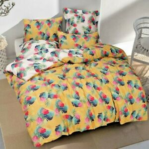 Spice 100%Cotton Printed Duvet Quilt Cover Set  Single/Double/Queen/King
