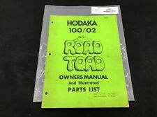 Hodaka Dirt Bike Road Toad 100 100/2  Service Repair Manual Part List Book P90