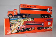 CORGI CLASSICS LIONEL CITY, #52302 MACK B SERIES SEMI LIONEL CITY VAN LINES