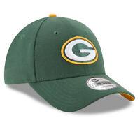 NEW ERA MENS 9FORTY BASEBALL CAP.NFL THE LEAGUE GREEN BAY PACKERS GREEN HAT C84