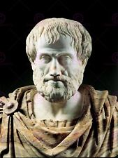 PHOTOGRAPH STATUE BUST ARISTOTLE ANCIENT GREEK POLYMATH POSTER PRINT LV11094