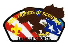 Friends of Scouting/FOS/BSA/CSP/Lasalle Council/Boy Scout Badge/Scout Patch