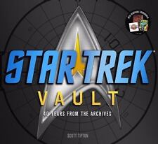 Star Trek Vault : 40 Years from the Archives by Scott Tipton (2011, Hardcover)