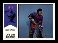 1974 O-Pee-Chee WHA #66 Lars-Erik Sjoberg RC ! EXMT+ X1510340