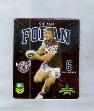 TIP TOP NRL 2013 RUGBY LEAGUE FOOTY SUPERSTARS CARD #12 KIERAN FORAN, MANLY