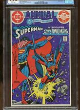 DC COMICS PRESENTS ANNUAL #2 CGC GRADED 9.8 WHITE PAGES 1983 SUPERMAN