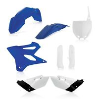 Acerbis Full Plastic Kit White Yamaha YZ 85 2019