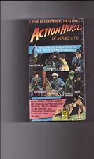ACTION HEROES OF MOVIES AND TV  VHS NEW/SEALED!