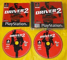 DRIVER 2 Ps1 Versione Inglese 1ª Edizione ○○○ COMPLETO