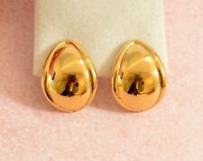 Monet Earrings Vintage Costume Jewellery without Theme