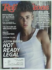 ROLLING STONE MAGAZINE Issue 1162 Justin Bieber Batman Springsteen August 2 2012