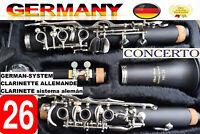Clarinetto Vollsystem 26 Piegare Deutsches Sistema Clarinette Allemand 26