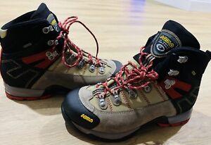 Asolo Fugitive GTX Men's Waterproof Hiking Boot 9M NEW W/O BOX Wool Black