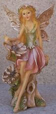 "Garden Accent Free Standing Winged Fairy #2 NEW 9 3/4"" tall"