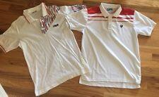 Fila Becker Borg And Vollaix Retro Vintage Tennis Polo Shirts Settanta
