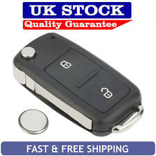 Volkswagen Transporter T5 Amarok 2 Button Remote Key Fob Case Service Repair Kit