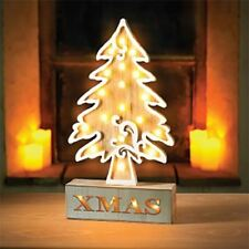 Wooden Christmas Tree String Lights Christmas Lights