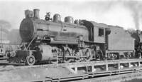 CP Canadian Pacific Railway locomotive, engine No 3522, 2-8-0 OLD TRAIN PHOTO