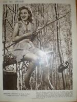 Photo article UK actress Hermione Gingold 1947