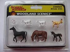 Woodland Scenics Ho #1844 - Livestock