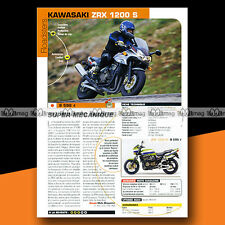 ★ KAWASAKI ZRX 1200 S ★ 2002 Essai Moto / Original Road Test #a1229