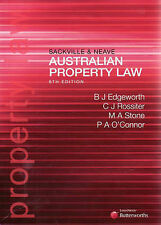 Sackville and Neave Property Law: Cases and Materials by Brendan Edgeworth (P