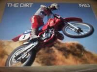 Honda 1983 The Dirt Motorcycle Brochure
