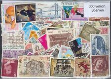 300  versch.  Briefmarken aus Spanien , spain , espana