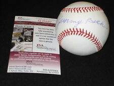 JIM BUCHER DODGERS SIGNED AUTOGRAPHED AUTHENTIC RAWLINGS ONL BASEBALL JSA RARE