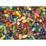 Resin Beads, Indonesian - Assortment of 100+ Pieces. Most in Pairs.