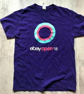 eBay Open 2018 Vegas Seller T Shirt Purple 'Did you Check eBay?'  Large MEDIUM