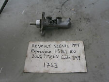 RENAULT TRW BRAKE MASTER CYLINDER FROM 2004 SCENIC 1.5 DCI