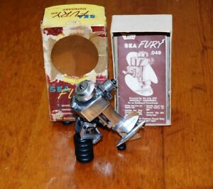 1955 K&B Sea Fury Outboard .049 model boat engine marine vintage toy motor box
