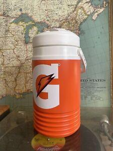 IGLOO GATORADE Legend 1/2 Gallon Orange Water Cooler Jug Brand New