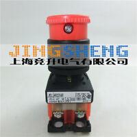 1PC New Fuji mushroom head emergency stop button AR22V4R-11R #YX