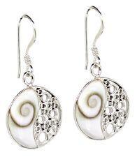 """Ohrstecker Shiva Auge (Mandala) """"Chiva's Eye"""", 925 Sterling Silber, Schmuck"""