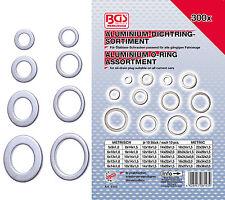 Aluminium Dichtring Dichtungen Aluminiumdichtungen Sortiment 300-tlg.