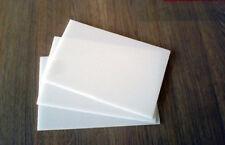 Polypropylene Sheet 210mm X 148mm X 3mm Plastic Panel Engineering Material White