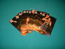 1996 UPPER DECK SP BASKETBALL, U.S.A. 10 CARD SET, CAREER STATS.