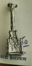CHICAGO WATER TOWER .925 STERLING SILVER PENDANT/CHARM KINNY VINTAGE