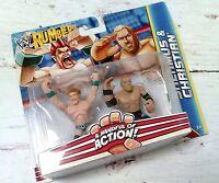 New WWE RUMBLERS SHEAMUS & CHRISTIAN Wrestling Action Figures Mattel