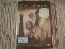 DVD EL SEÑOR DE LOS ANILLOS LAS DOS TORRES EDICIÓN DE 2 DISCOS NUEVO PRECINTADO